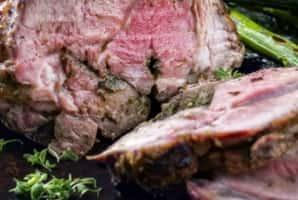 service Le veau froid saumoné